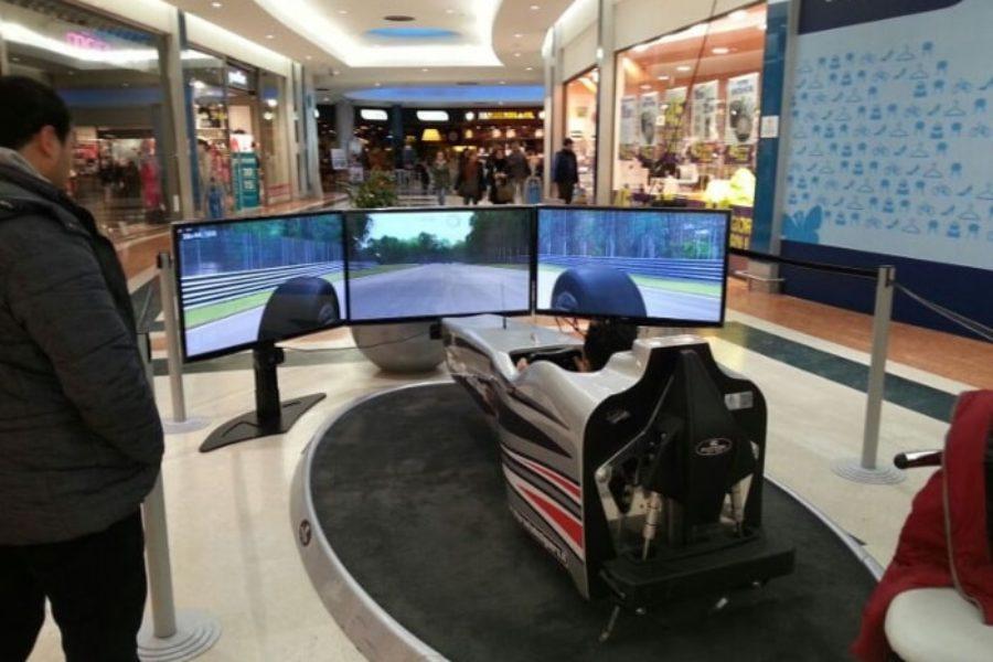 Pesaro ha il suo simulatore F1 al Rossini Center