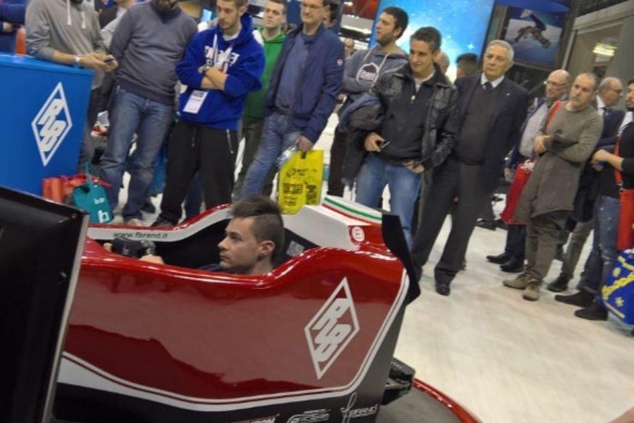 Rubinetterie Bresciane, coniugare la F1 virtuale con il proprio brand
