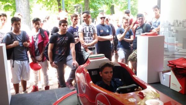 Vodafone Evento Aziendale Wired NextFest Milano - Simulatore F1 Fbrand