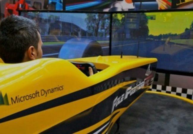 Fbrand Simulatore F1 SYM030 - Simulatore di Guida Formula Uno Professionale