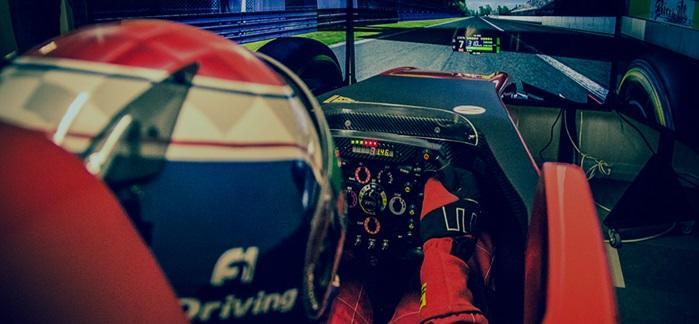Prodotti Fbrand - Simulatore F1 - Simulatori di Guida Professionali Formula 1 Ferrari Prezzo Costo