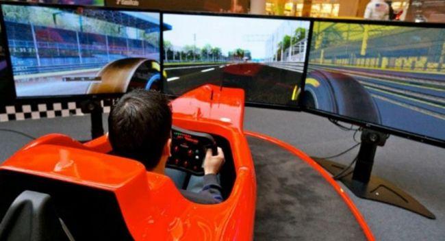 Simulatore F1 Professionale Fbrand - Simulatore di Guida Formula 1 Sym 030