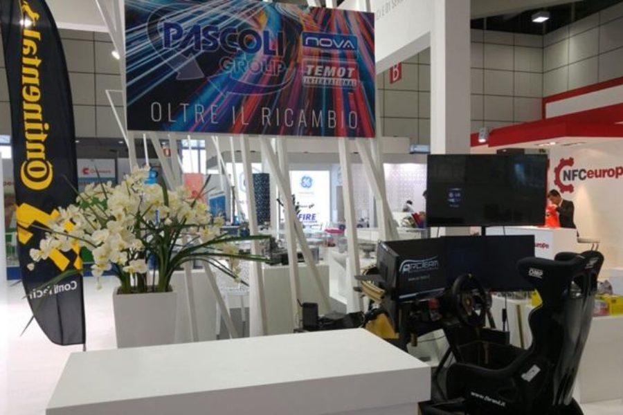 Pascoli Group all'Autopromotec Bologna 2017 con il Simulatore Camion