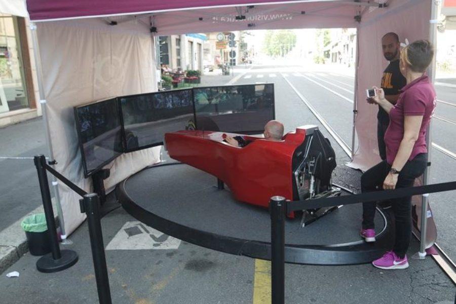 VisionOttica e Simulatore F1 a Milano per Vedere Meglio e Divertirsi di Più