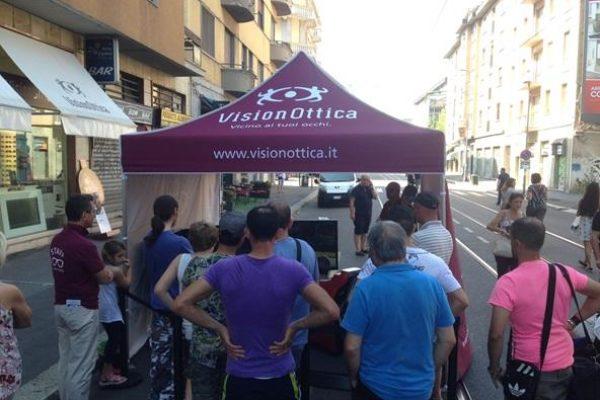 Stand Vision Ottica Milano Giugno 2017 - Simulatore di Guida F1 Professionale Fbrand