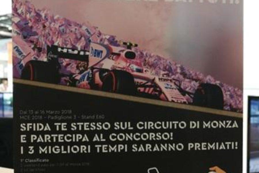 Code Anche con 2 Simulatori F1 BWT alla Mostra Expocomfort di Milano