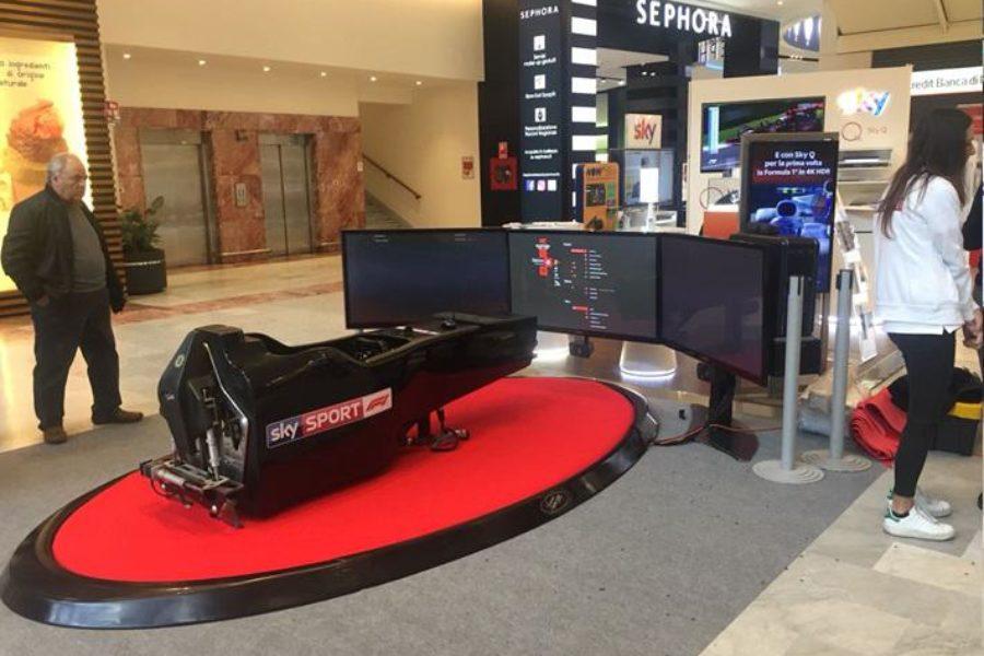 Firenze: Centro Commerciale I Gigli, Anche Qui Sky Sport F1 C'è