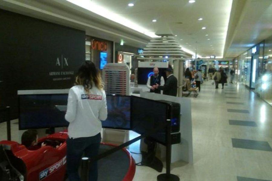 -3 al Mondiale F1: Sky Sport e Simulatore F1 Pronti Anche al Globo Milano