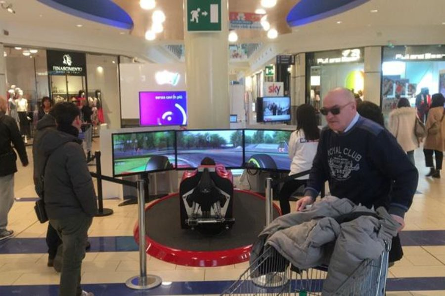 -2 al Via del GP F1 2018: Sky Sport con il Simulatore F1 C'è Anche a Le Befane