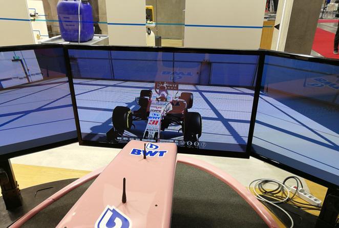 Testimonianza Bwt Italia sui Simulatori F1 a Expocomfort Milano