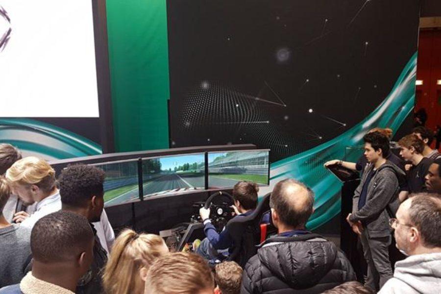 Petronas e Fbrand con il Simulatore GT al Salone dell'Auto di Ginevra