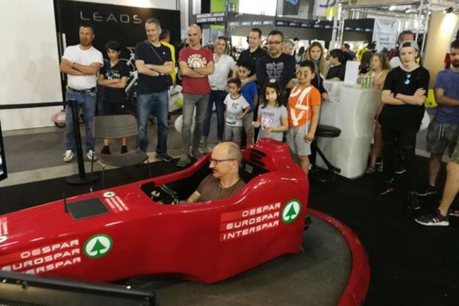 È Partita la F1 con il Simulatore alla Fiera Tempo Libero di Bolzano