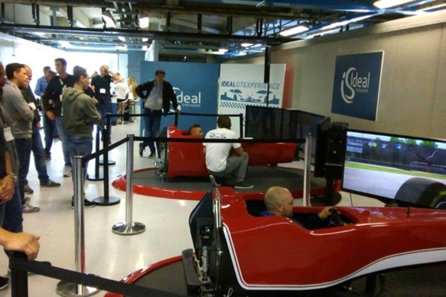 Secondo Evento Ideal Standard con 2 Simulatori F1 all'Autodromo di Monza