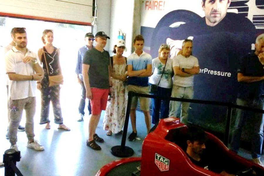 Ancora Tag Heuer e Simulatore F1 Insieme al Raduno Porsche Varano