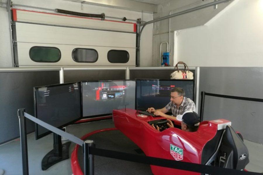 Simulatore F1: Opinione e Testimonianza di Tag Heuer per Fbrand