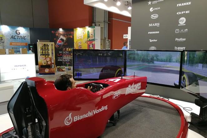 Simulatore F1 a Regime Senza Sosta con Trivending a Venditalia