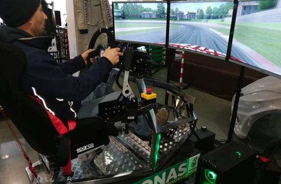 Simulatore GT Rally Professionale Dinamico - Simulatore Gran Turismo Rally Fbrand