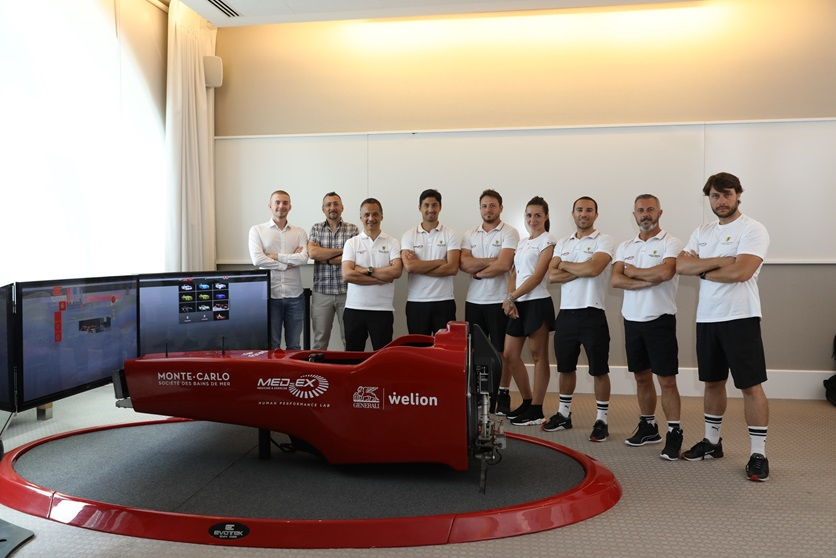 Top Manager Generali Med-Ex Welion - Montecarlo Societe des Bains de Mer - Simulatore F1 Fbrand