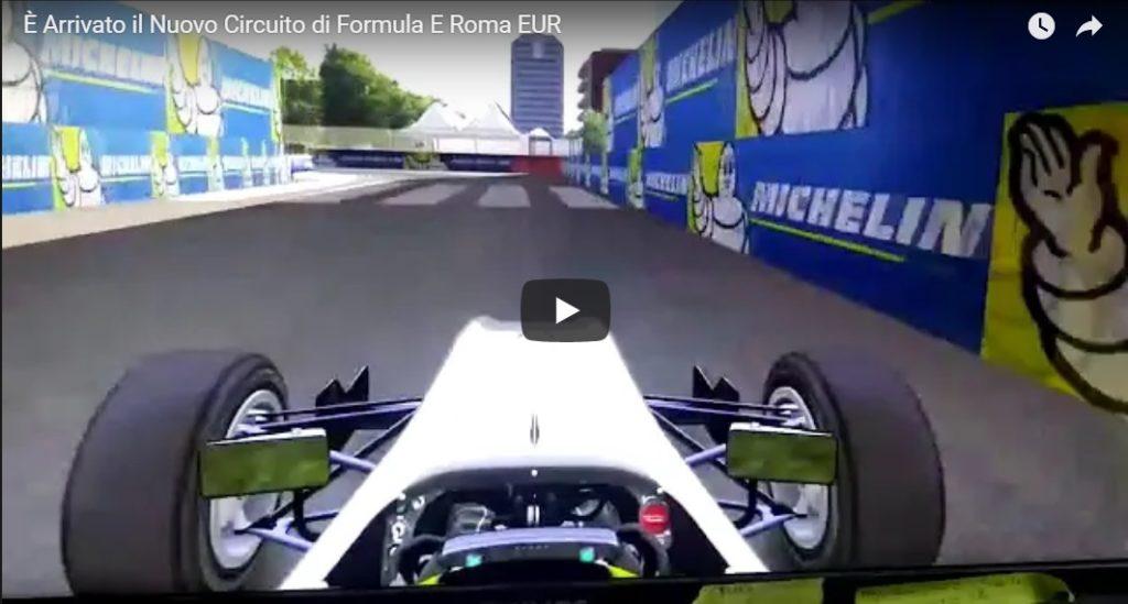 Simulatore Formula E - è Arrivato il Nuovo Circuito di Roma EUR