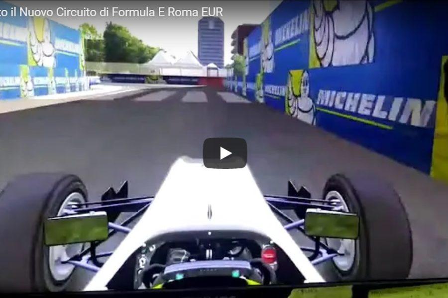 Simulatore Formula E: è Arrivato il Nuovo Circuito di Roma EUR