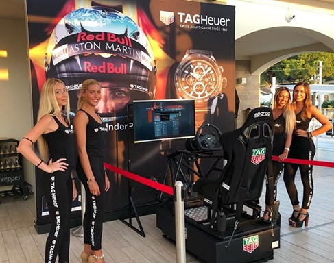Tag Heuer Allieta Anche l'Estate al Mare con il Simulatore Rally in Toscana