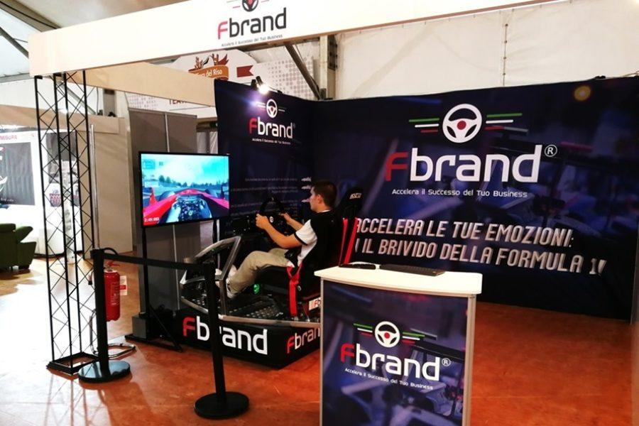 Entra nella Sfida con Fbrand e il Simulatore di Corsa alla Fiera del Riso 2018