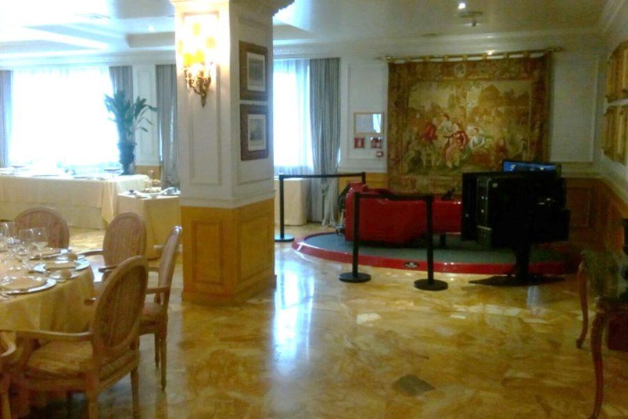 Bis Simulatore F1 e Decade Sports all'Hotel de Ville di Monza per il GP D'Italia