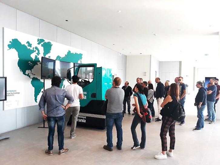 Camion Simulatore Petronas - R&T Centre Torino