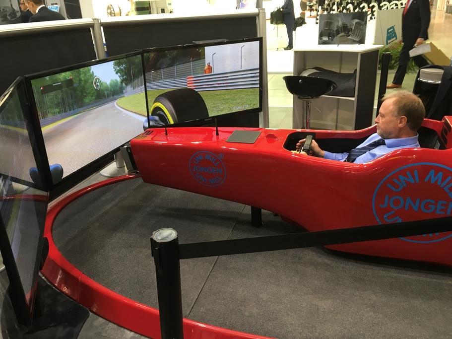 La Testimonianza di Jongen sul Simulatore F1 e su Fbrand al BIMU 2018