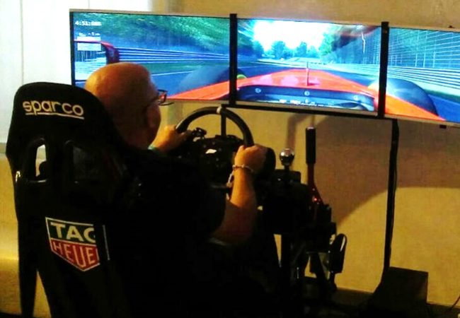 Simulatore GT Rally Professionale Fbrand