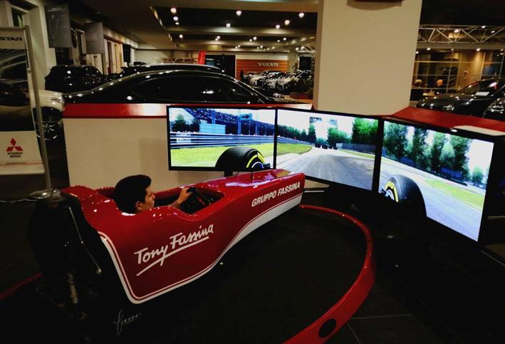 Costo Simulatore F1 Professionale - Sym Pro Dynamic - Fbrand