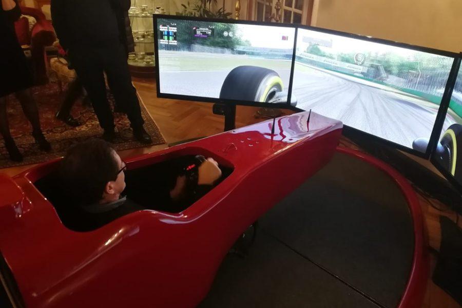 2 Simulatori F1 e Tante Sfide con KPMG al Regina Palace di Stresa