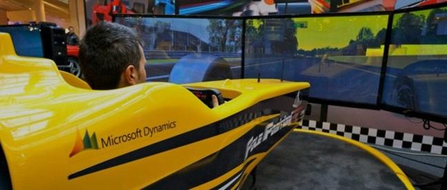 Simulatore FE Professionale Fbrand - Simulatore di Guida Formula E Sym Pro Dynamic