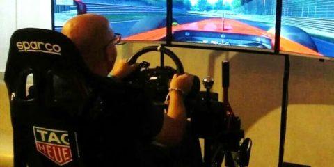 Simulatore Rally Professionale Fbrand - Simulatore Gran Turismo Professionale Fbrand