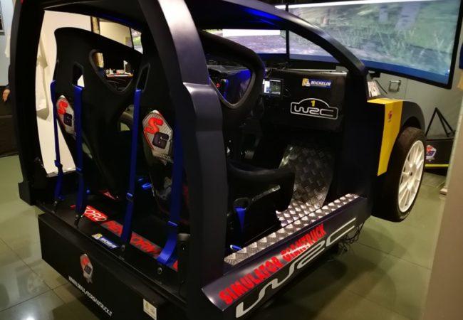Simulatore Rally Professionale - Info e Prezzi - Fbrand - Rally Con Scocca