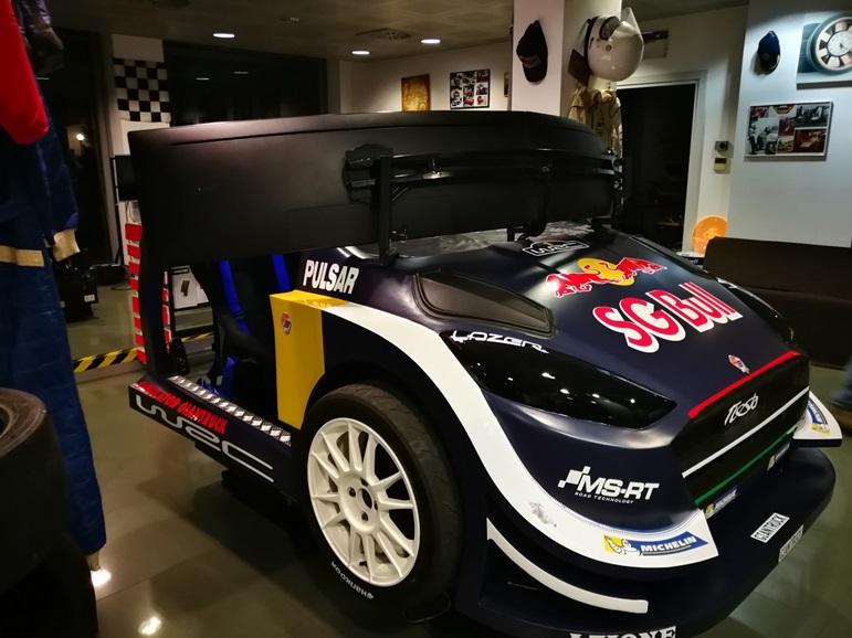 Simulatore Rally con Scocca Professionale - Fbrand