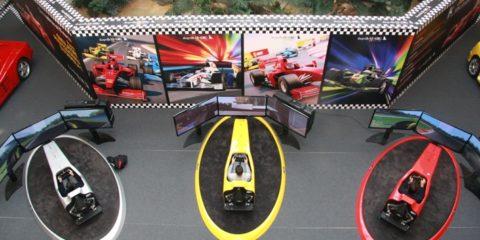 Simulatori di Guida Professionale - F1, Rally, GT, Camion e Moto Fbrand