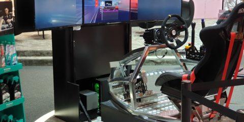 Simulatore GT Rally Petronas Fbrand