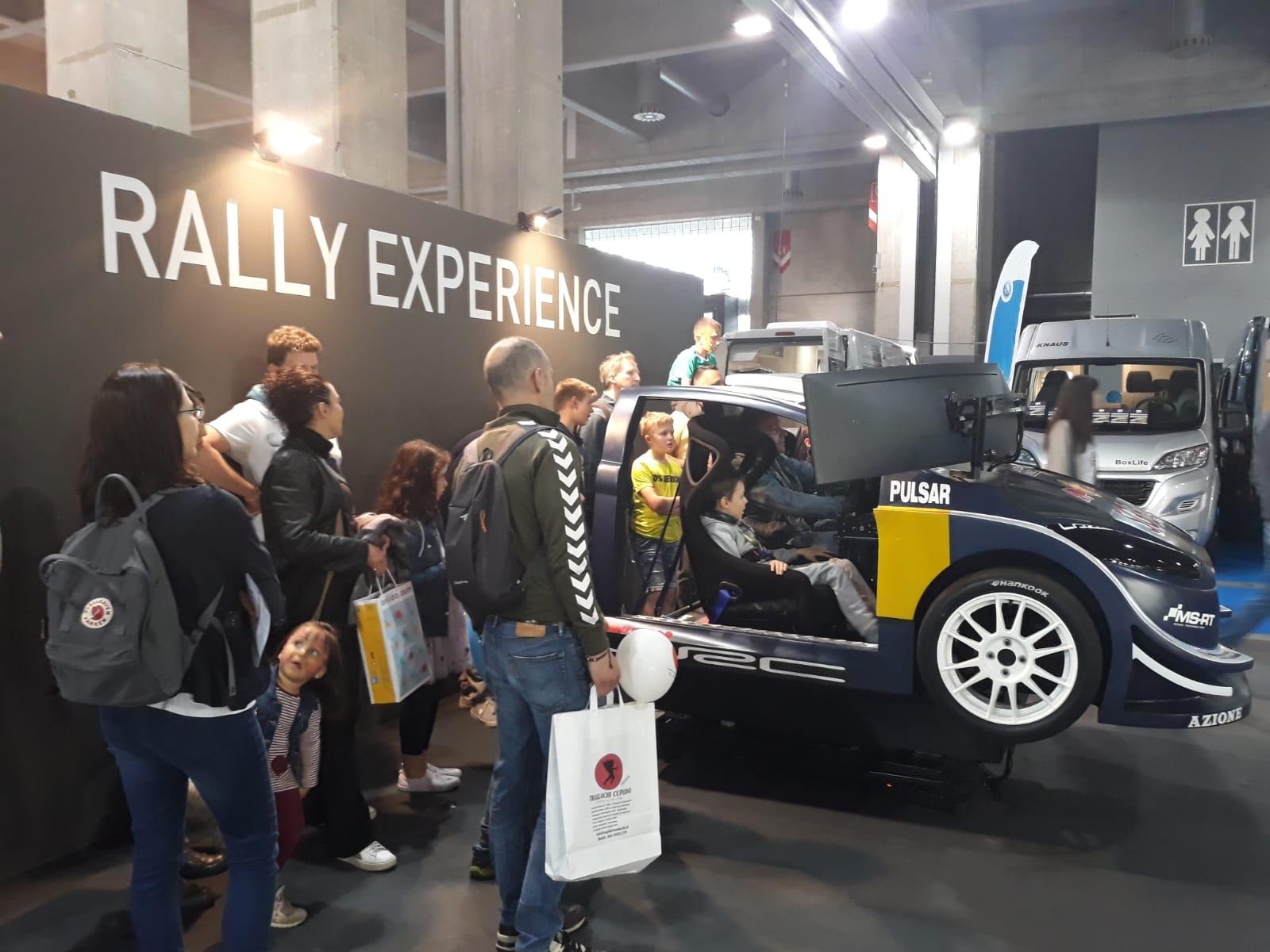 Fiera Tempo Libero Bolzano 2019 - Simulatore Rally Experience