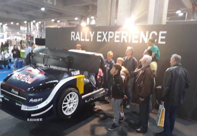 Rally Experience Fiera Bolzano Tempo Libero 2019 con Fbrand
