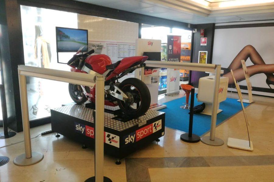 Anche il Simulatore MotoGP Professionale è con Sky