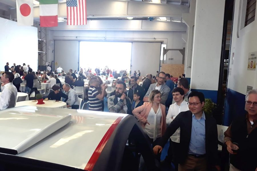Bonomi Industries Festeggia i 65 con il Simulatore Rally Professionale