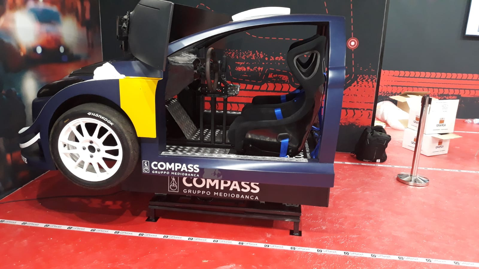 Simulatore Rally Fbrand Compass - Automotive Dealer Day