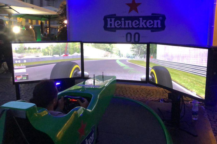 Heineken e Fbrand bissano il successo con il Simulatore F1