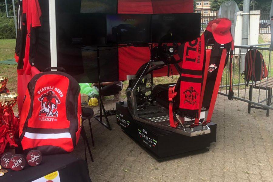 Il Simulatore GT Rally Delizia Grandi e Piccini a SestoSport