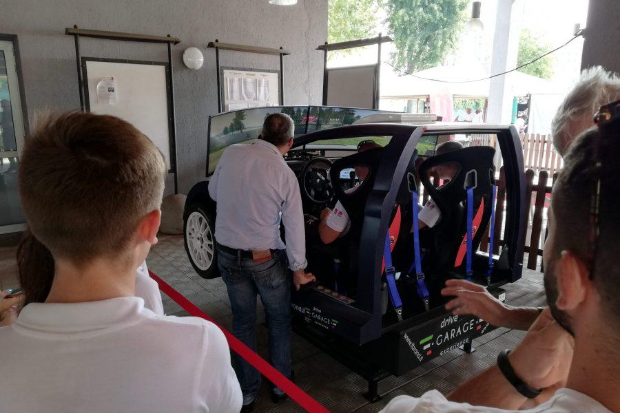 Il Simulatore Rally insieme a FCA al Cedas di Torino