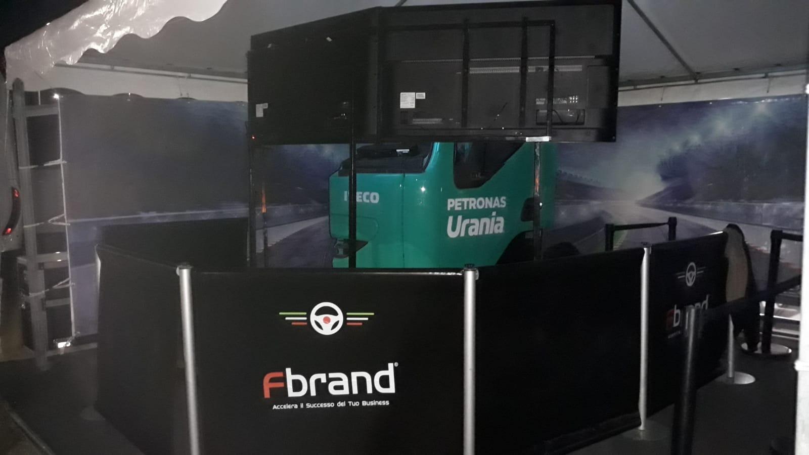 Romana Diesel, un Oktober Truck Fest alla guida del Simulatore Fbrand
