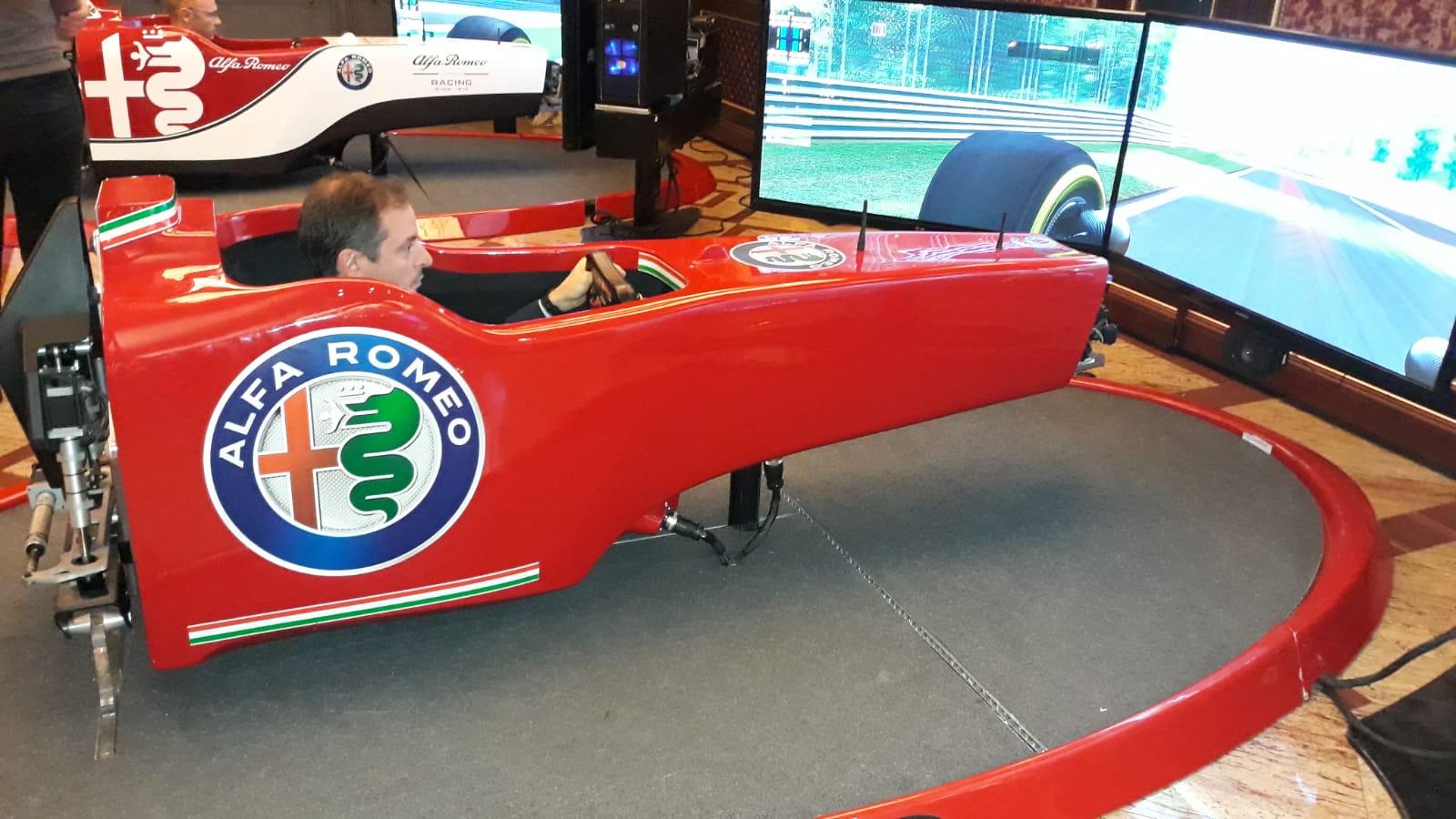 Evento KPMG: Fbrand nuovamente in pista, e non solo sul tracciato di F1