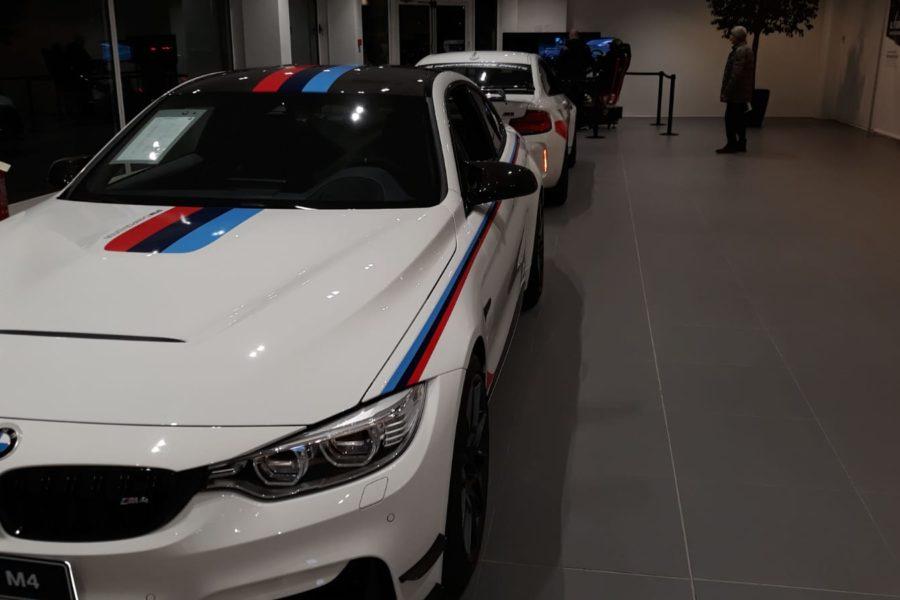 Simulatore Gran Turismo Professionale al Concessionario Bmw Monselice Motori