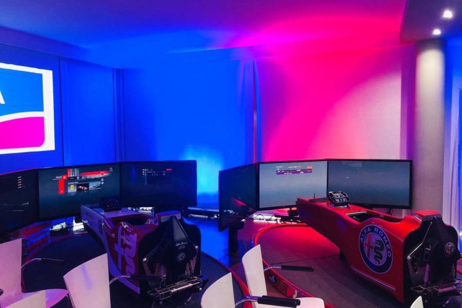 All'Hotel Radisson Blu di Roma il divertimento è sul Simulatore F1